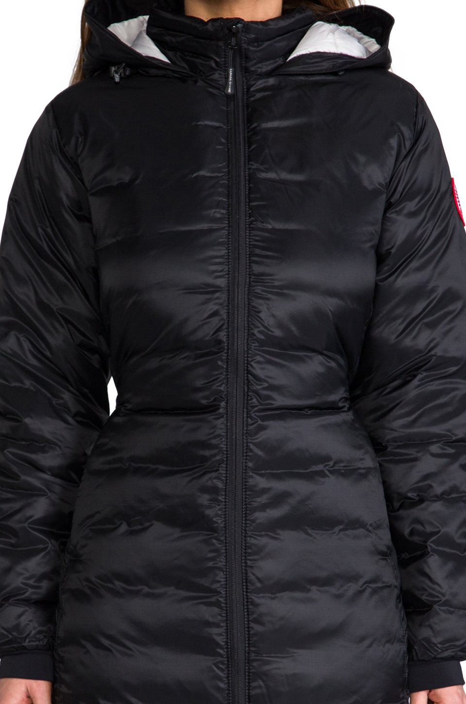 Canada Goose down sale official - Canada goose Camp Hooded Jacket in Black | Lyst