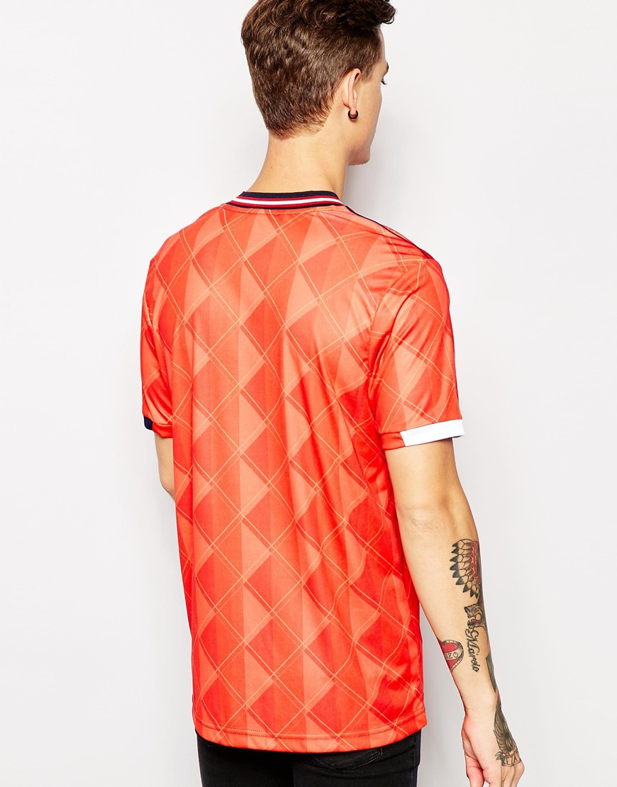 Umbro Retro Polo Shirt in Red for Men | Lyst