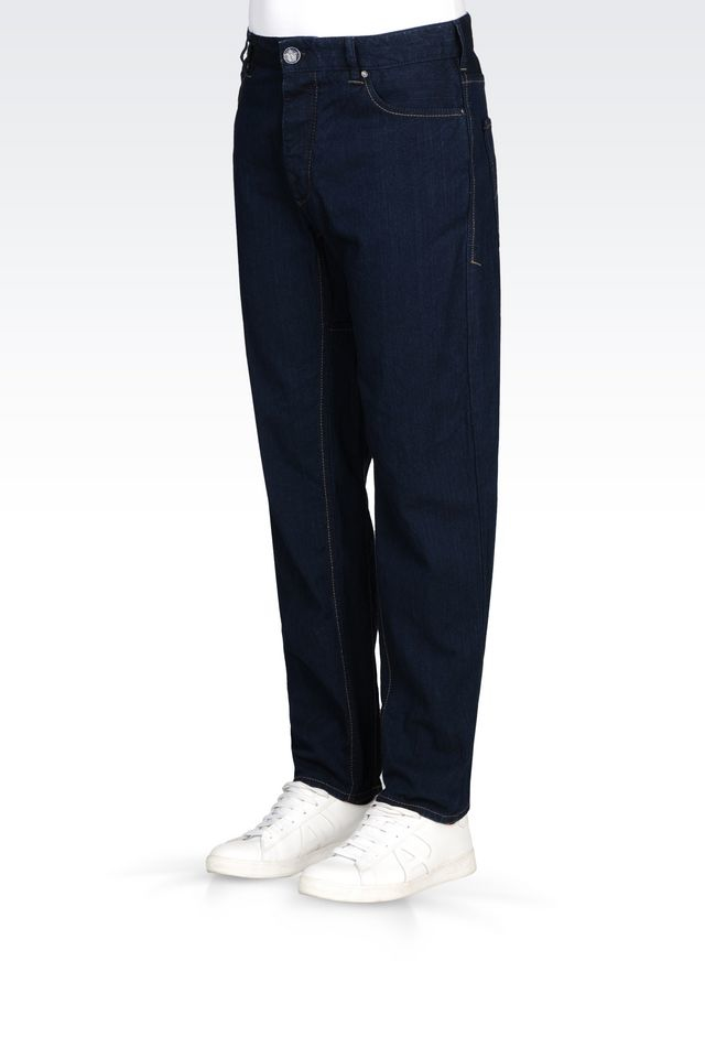Armani Jeans Jeans In Blue For Men Lyst