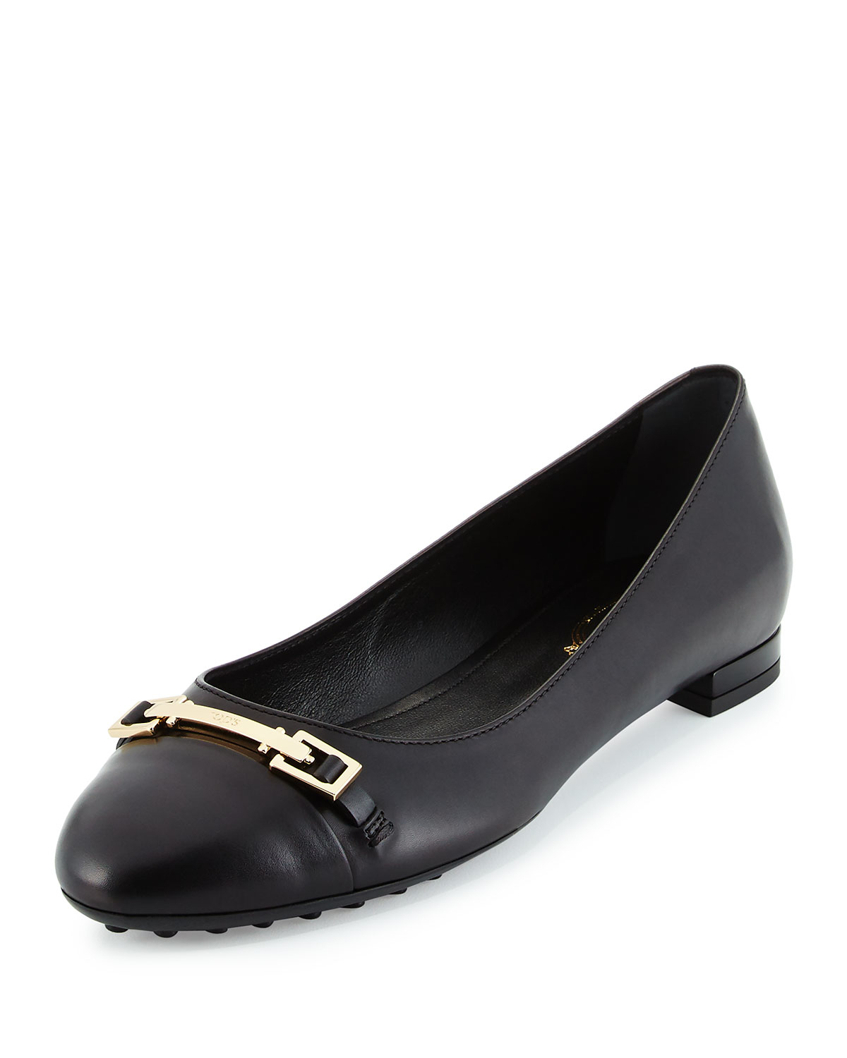 Tod's Leather Ballet Flats YfaCct3vC