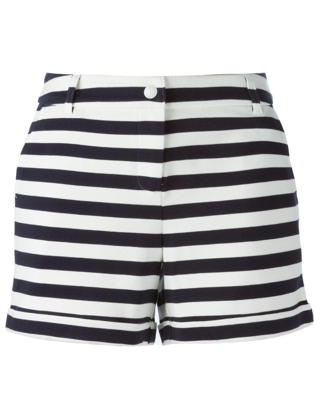 Petit bateau striped shorts in blue lyst for Petit bateau striped shirt