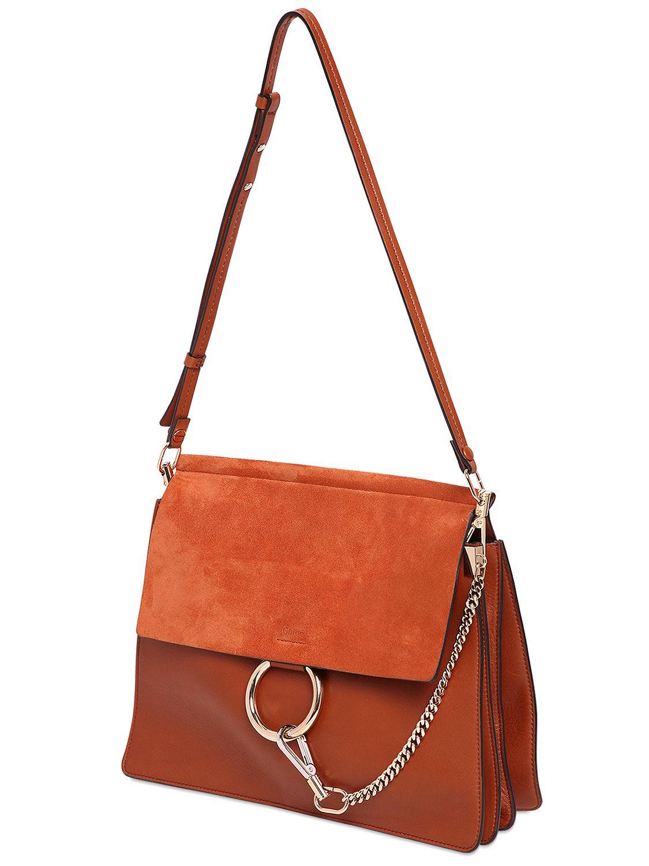 562b1771fa9 1125 x 1500 www.lyst.com · Lyst - Chloé Medium Faye Leather  amp  Suede  Shoulder Bag ...
