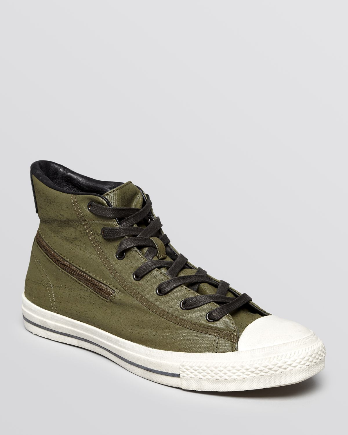 ... inexpensive lyst converse chuck taylor all star zip high top sneakers  in green 92f48 a6e04 669d5f303