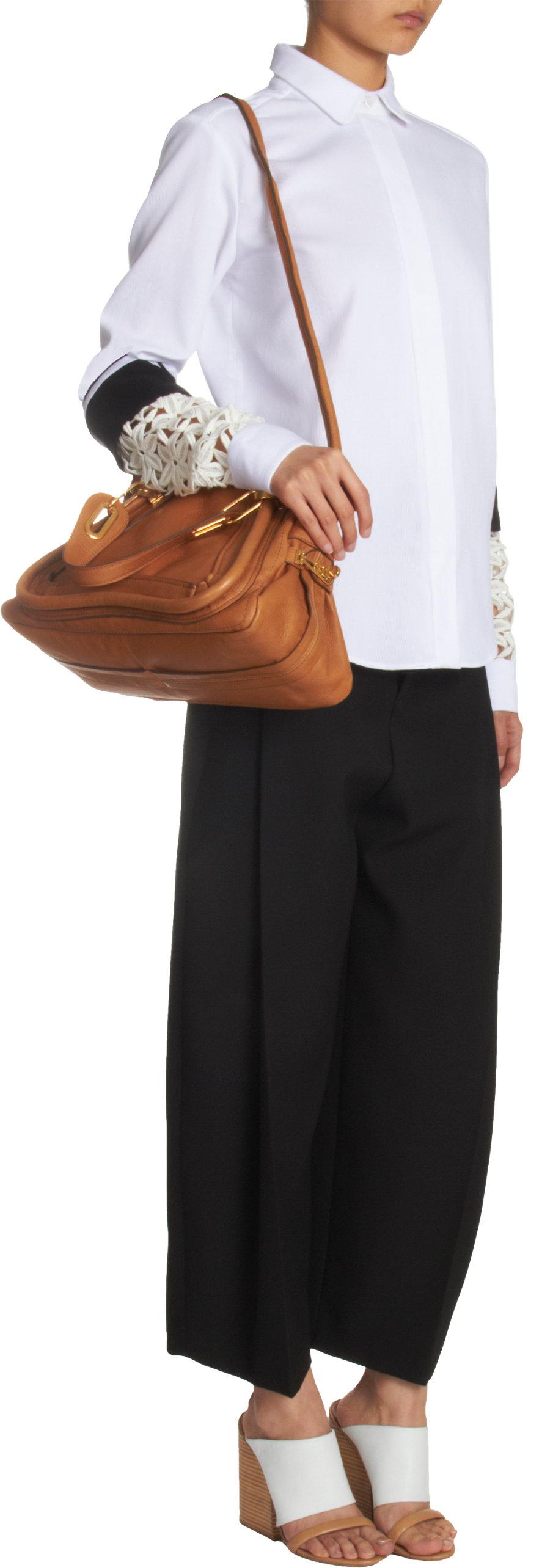 chloe satchel handbag - chloe medium paraty satchel, chloe outlet uk