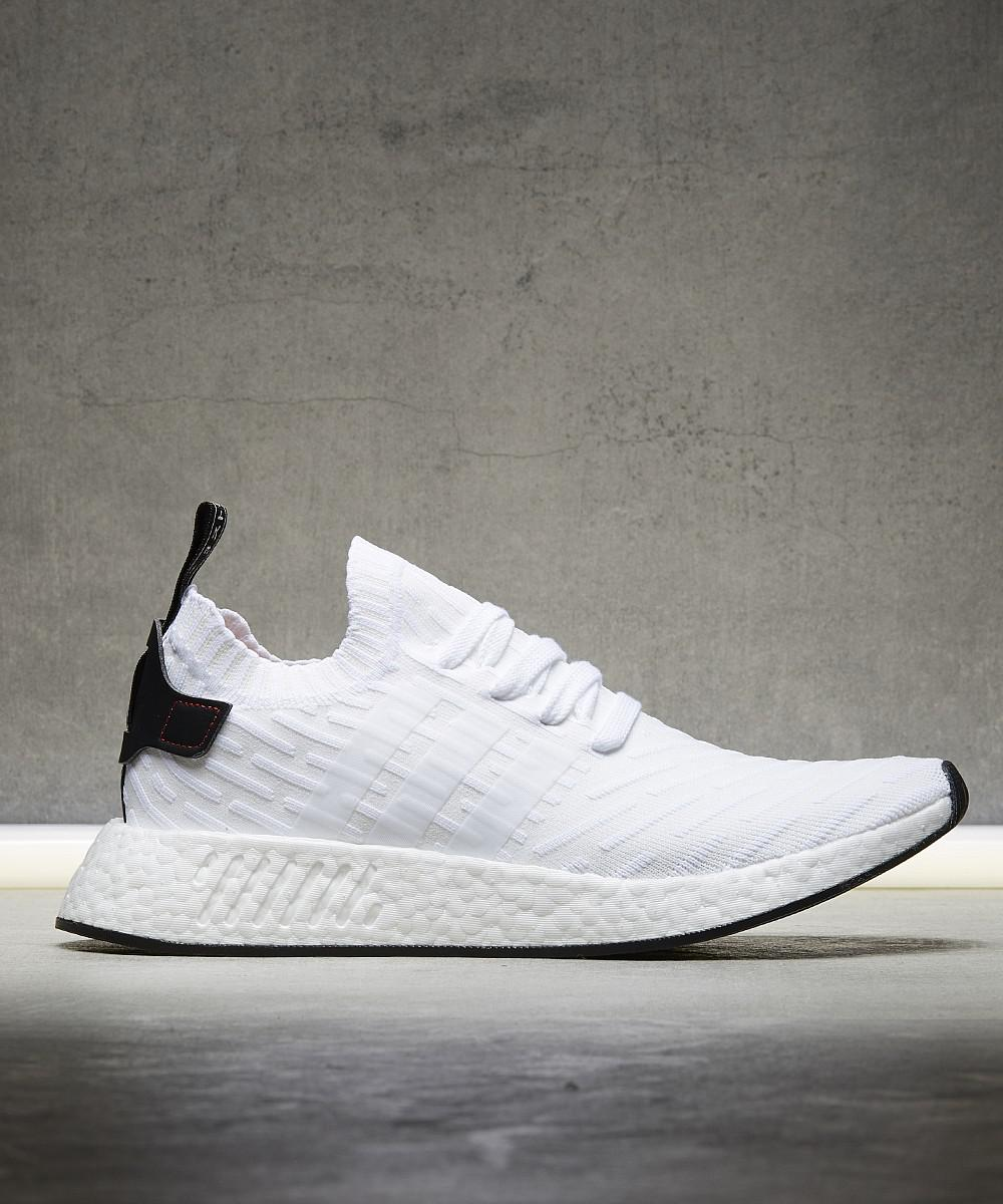 b3d43d898 Lyst - Adidas Nmd R2 Primeknit Trainer in White for Men