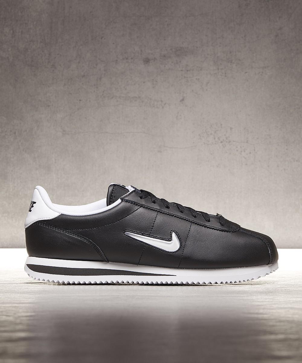 best service 7a63c d8b1f Lyst - Nike Cortez Jewel Trainer in Black for Men