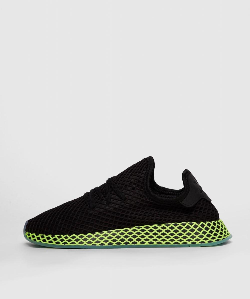 big sale 9cd1a 0c8c3 adidas. Mens Black Deerupt Runner Trainer