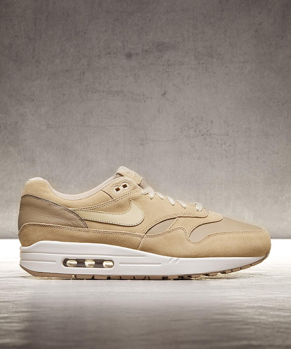 2b6fdc7c29cc07 Lyst - Nike Air Max 1 Premium Trainer in Natural