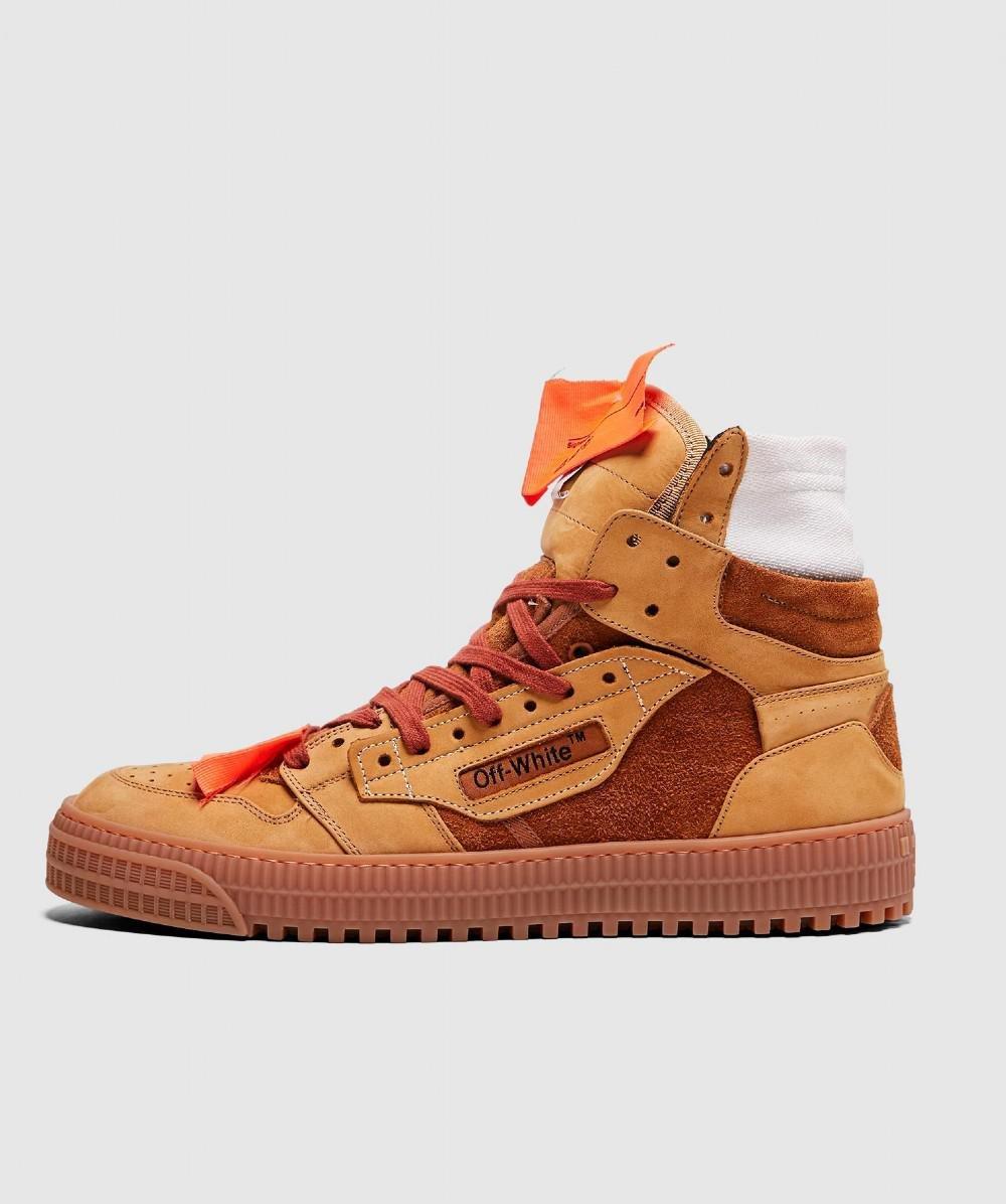 4b7dd28578586 Off-White C O Virgil Abloh Off-court Suede Sneaker for Men - Save ...