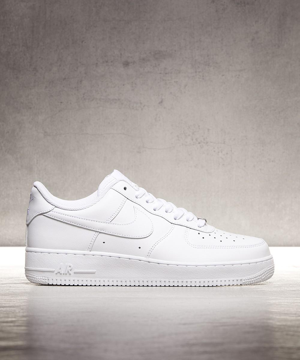 info for 0eac3 0876e Nike. Men s White Air Force 1 Low Trainer