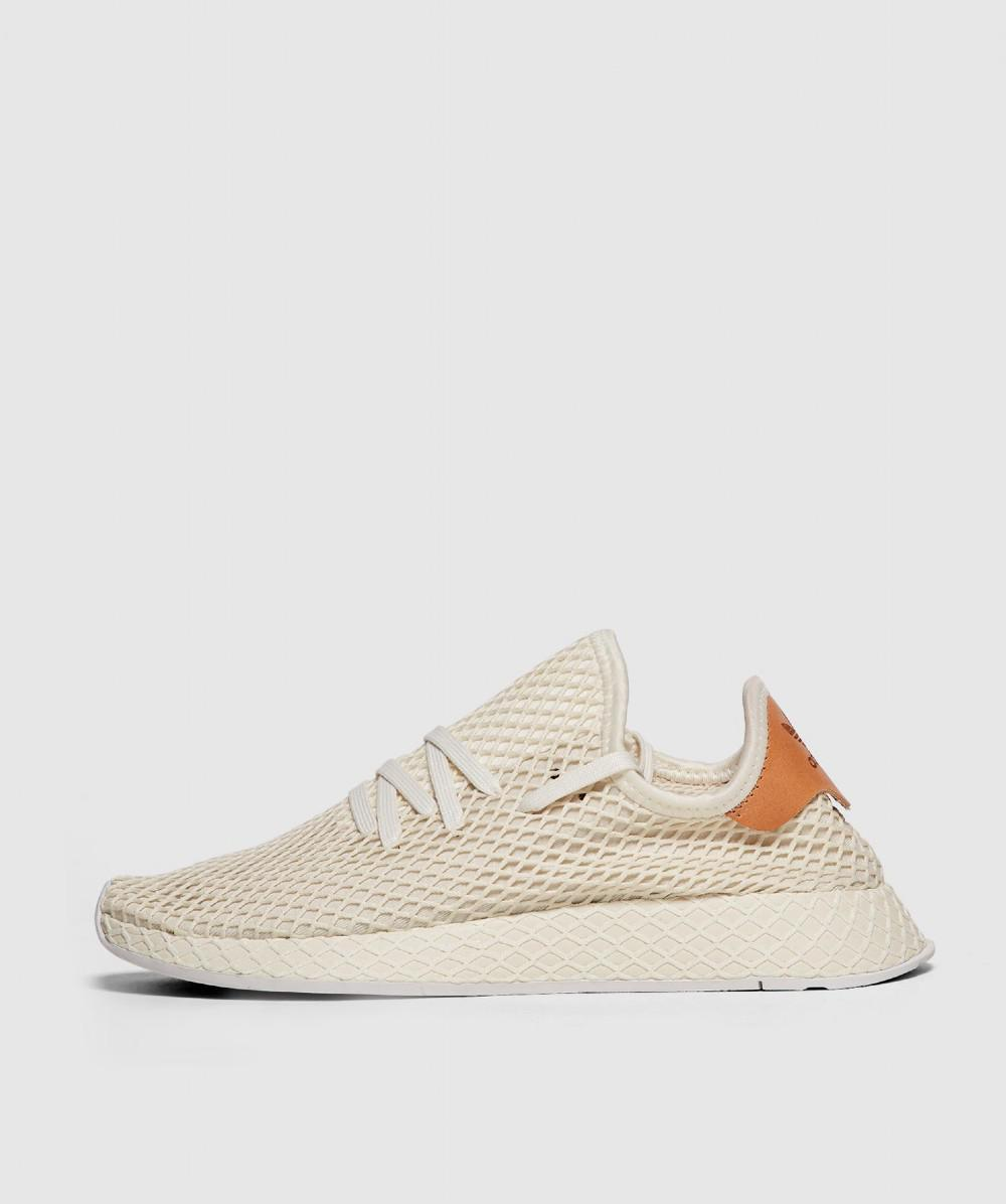 a8bf8e01b Adidas Deerupt Runner Trainer in White for Men - Lyst