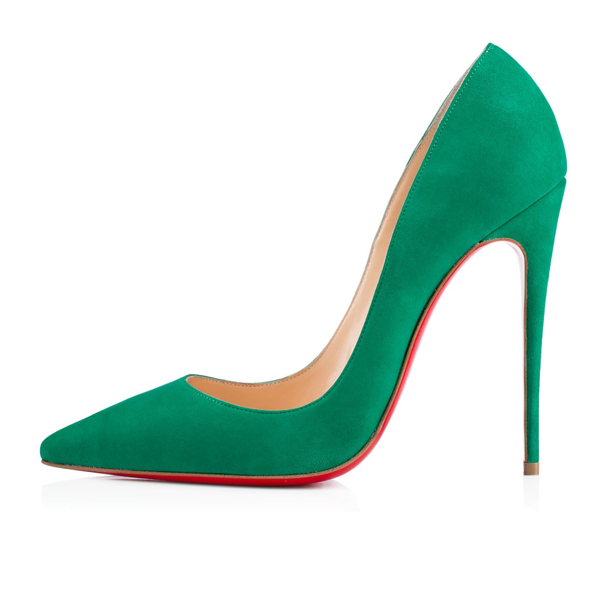 Christian Louboutin So Kate Suede in Green - Lyst 7e9e865d2210