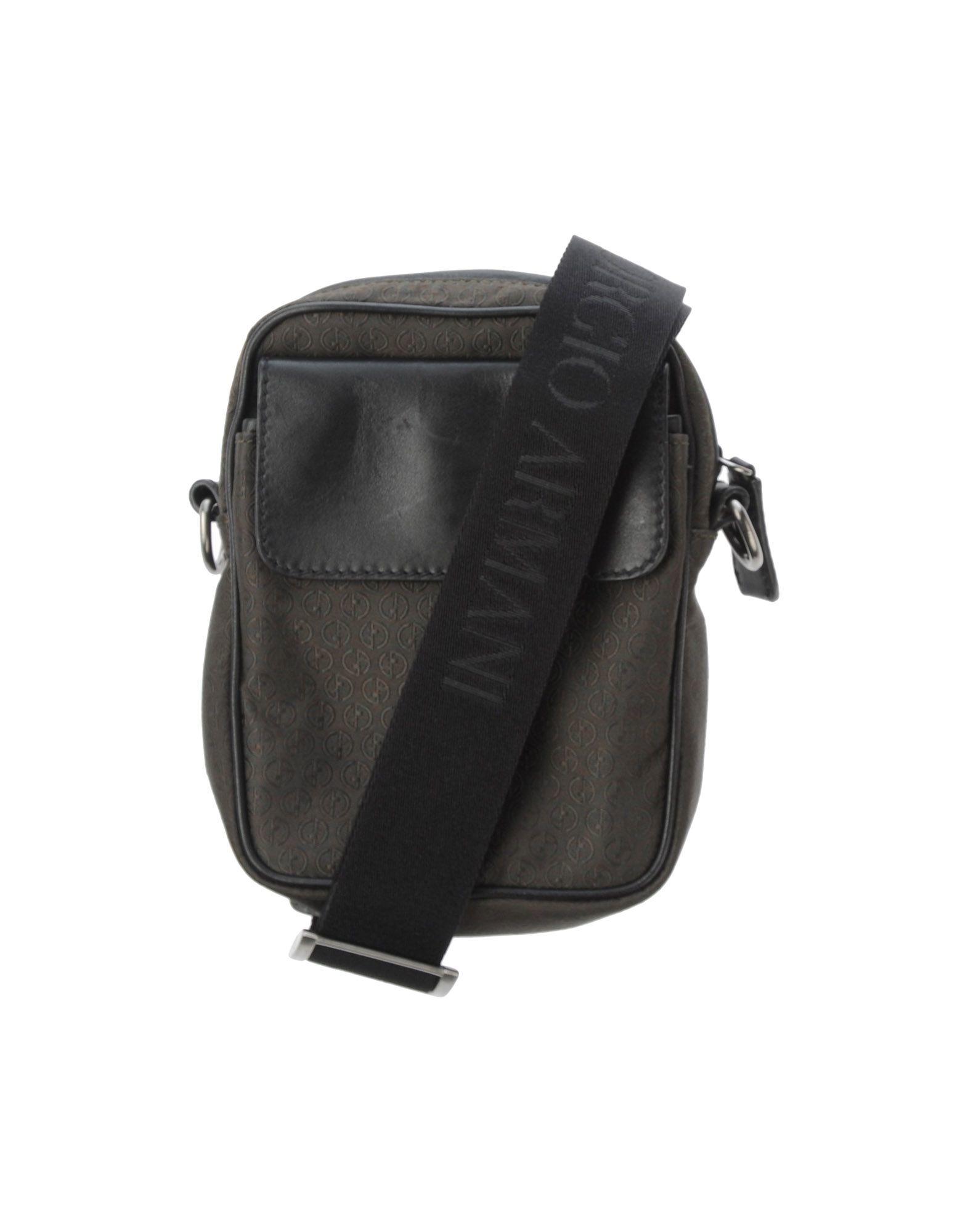 05d65b087c82 Lyst - Giorgio Armani Cross-body Bag in Green for Men