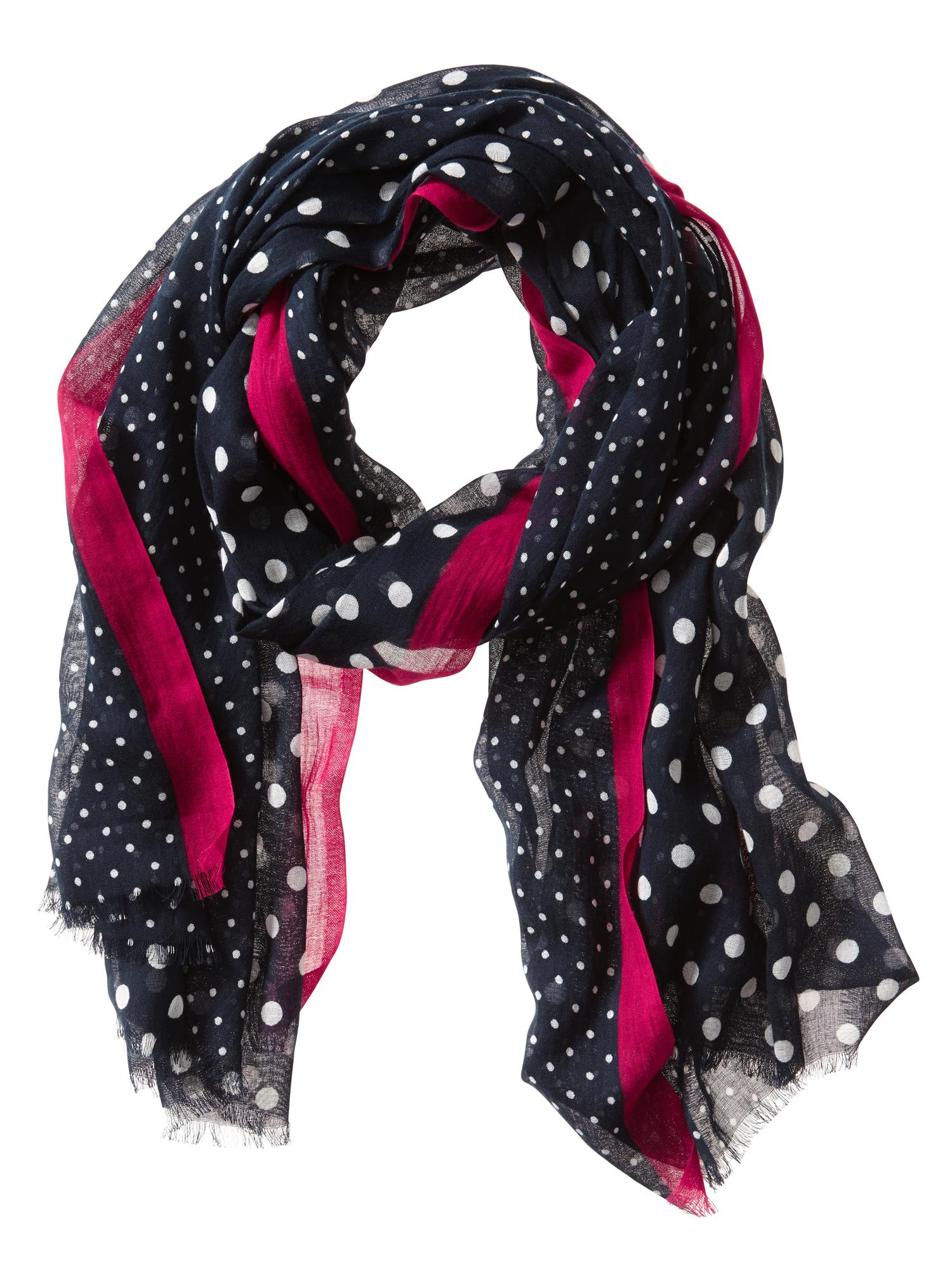 Cranberry Fashion Scarf For Men