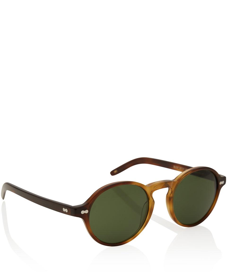 Acetate Brown Lyst Sunglasses Glick Tortoiseshell In Moscot wBxa1qS7