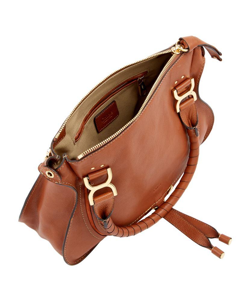 chloe replica bags - Chlo�� Medium Marcie Nude Tote Bag in Brown   Lyst