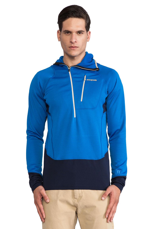 Lyst Patagonia R1 Hoody In Blue For Men