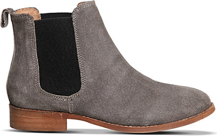 324347135941 Office Bramble Suede Chelsea Boots in Gray - Lyst