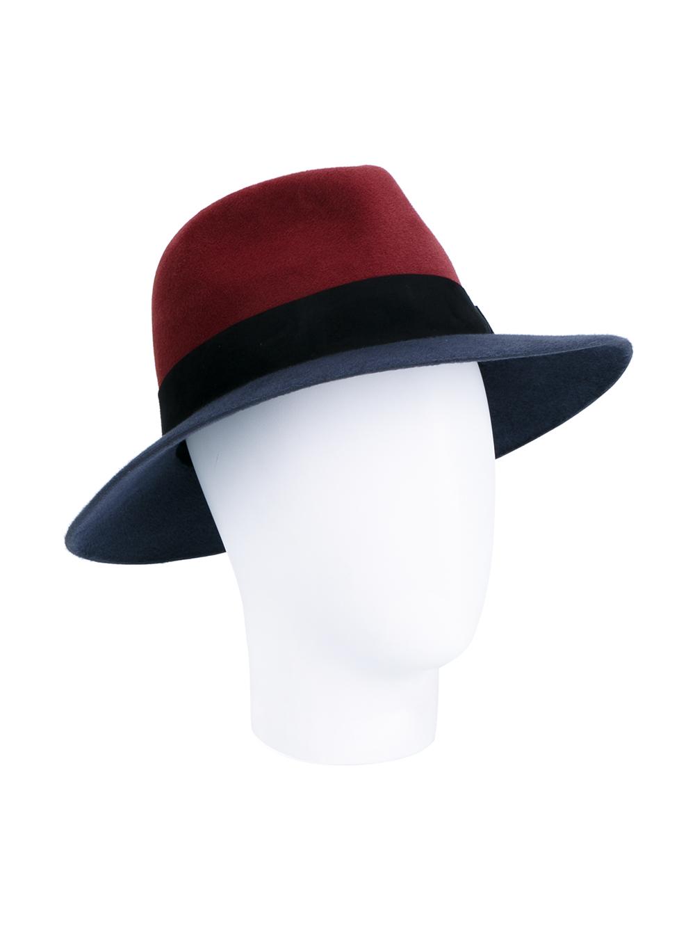 Lyst maison michel henrietta wool hat for Maison michel