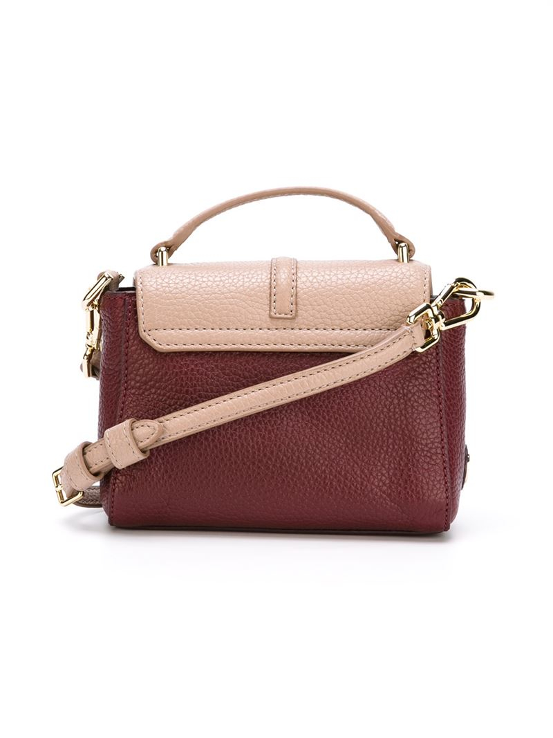 7246b4390000 Lyst - Tory Burch Tiny  797  Crossbody Bag in Pink