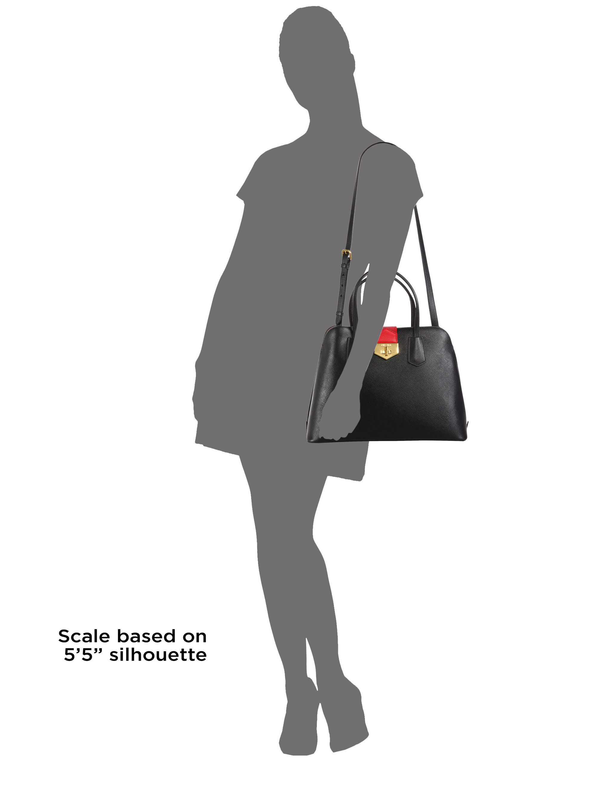 prada black bags - prada saffiano cuir double medium tote bag, prada handbags price
