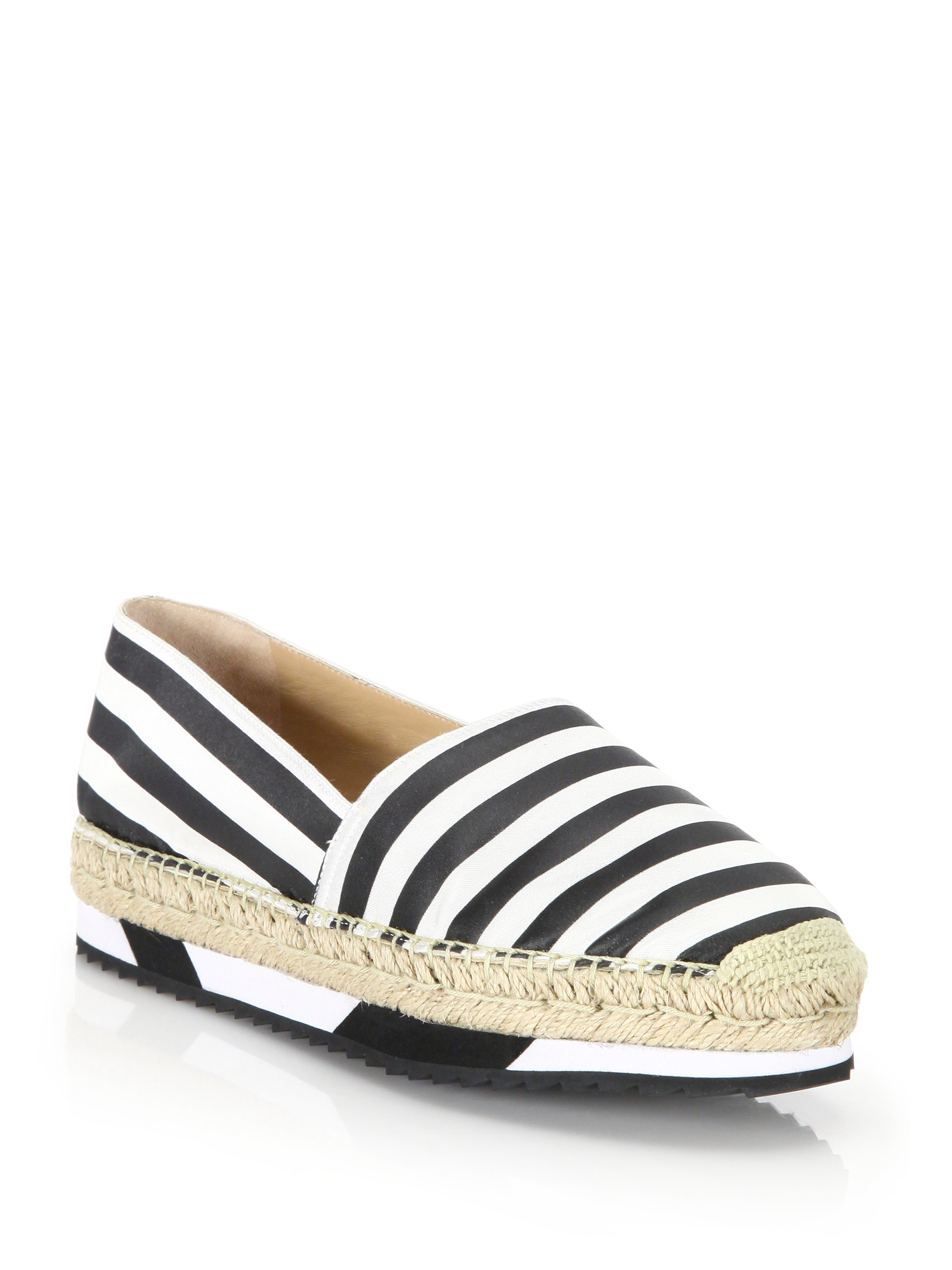 discount codes clearance store sale best sale Diane von Furstenberg Striped Platform Espadrilles amazing price cheap price outlet store ZMyRKwngU6