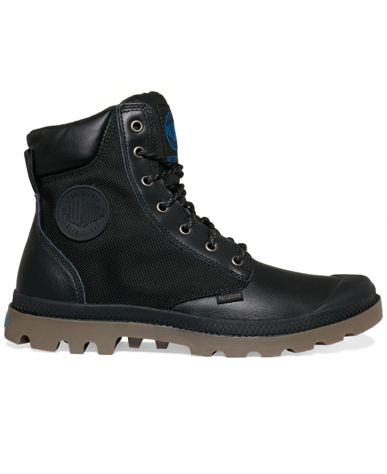 Palladium Pampa Sport Cuff Wp2 Boots In Black For Men Lyst