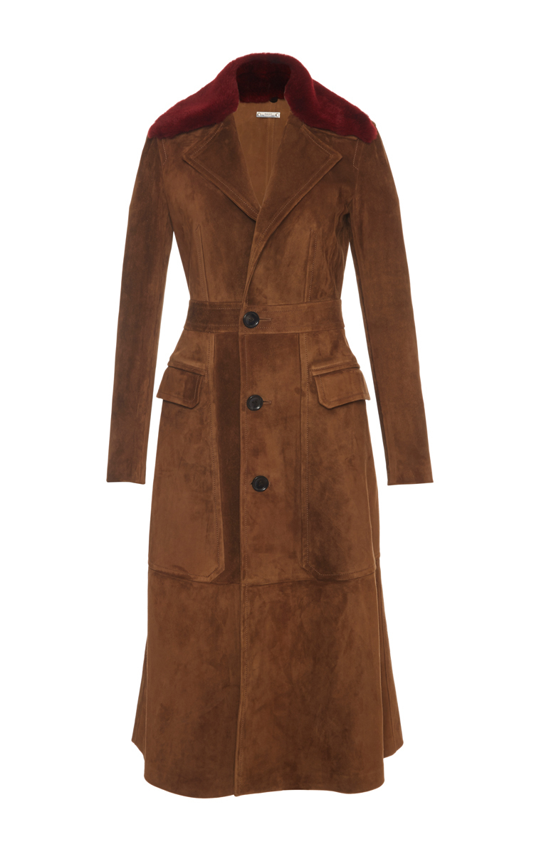 Fur and shearling coat styles
