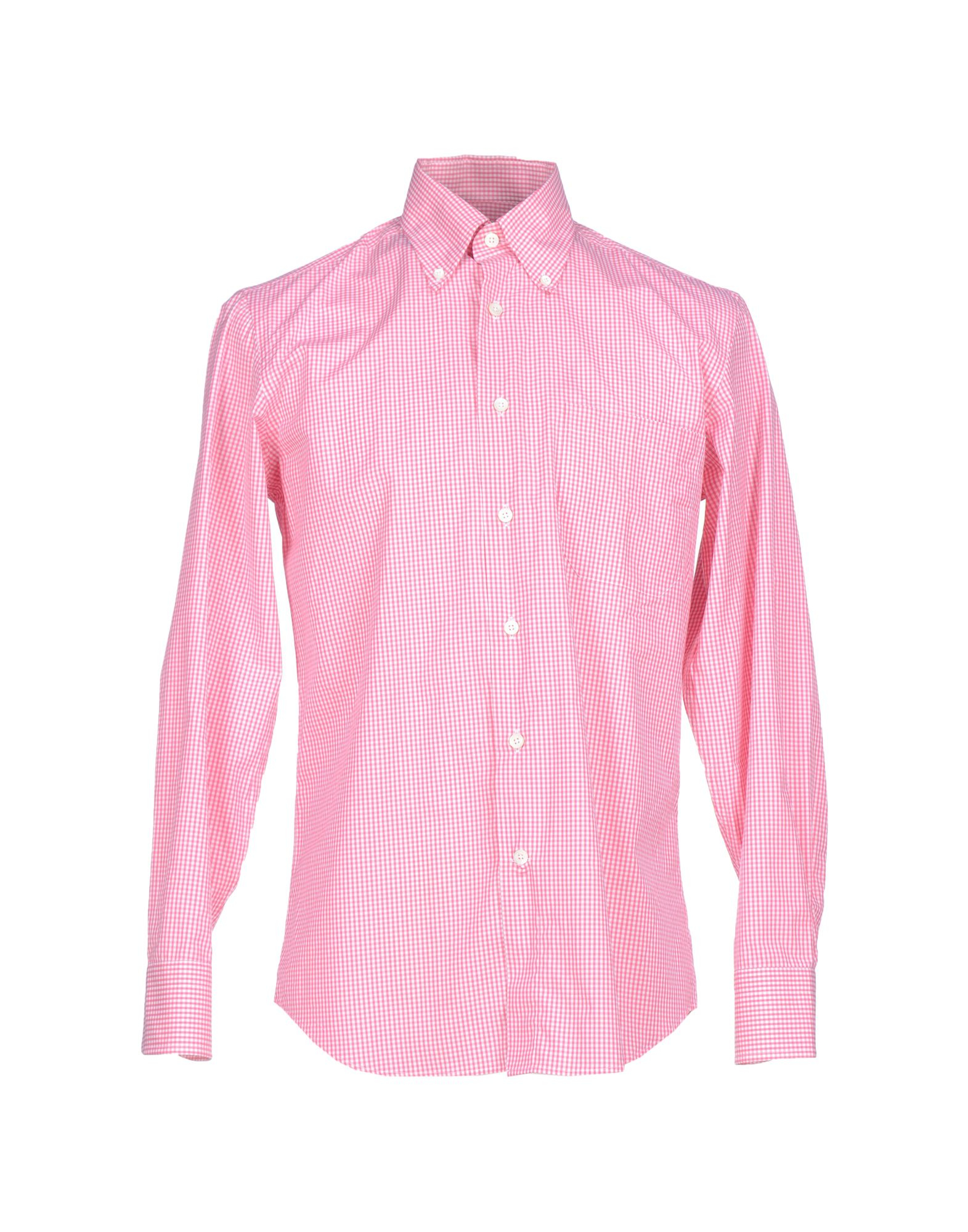 Canali shirt in purple for men lyst Light purple dress shirt men