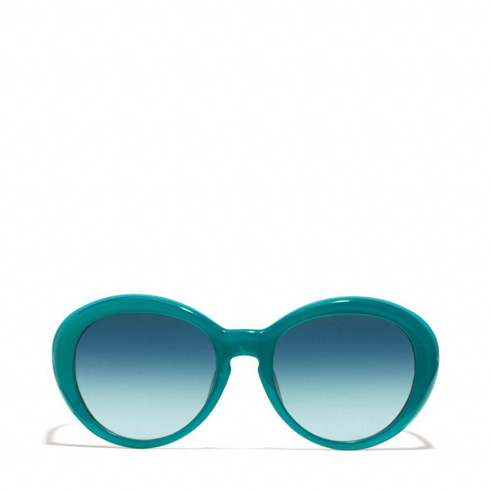 e97ce3848dc93 ... sale lyst coach lindsay sunglasses in black 632eb 7d852