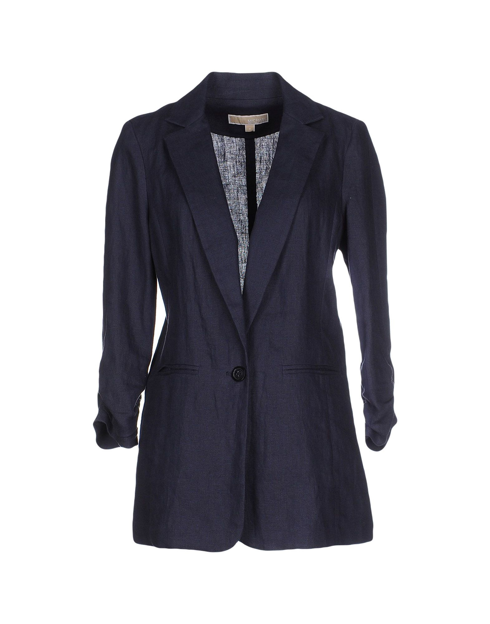 michael michael kors blazer in blue lyst. Black Bedroom Furniture Sets. Home Design Ideas