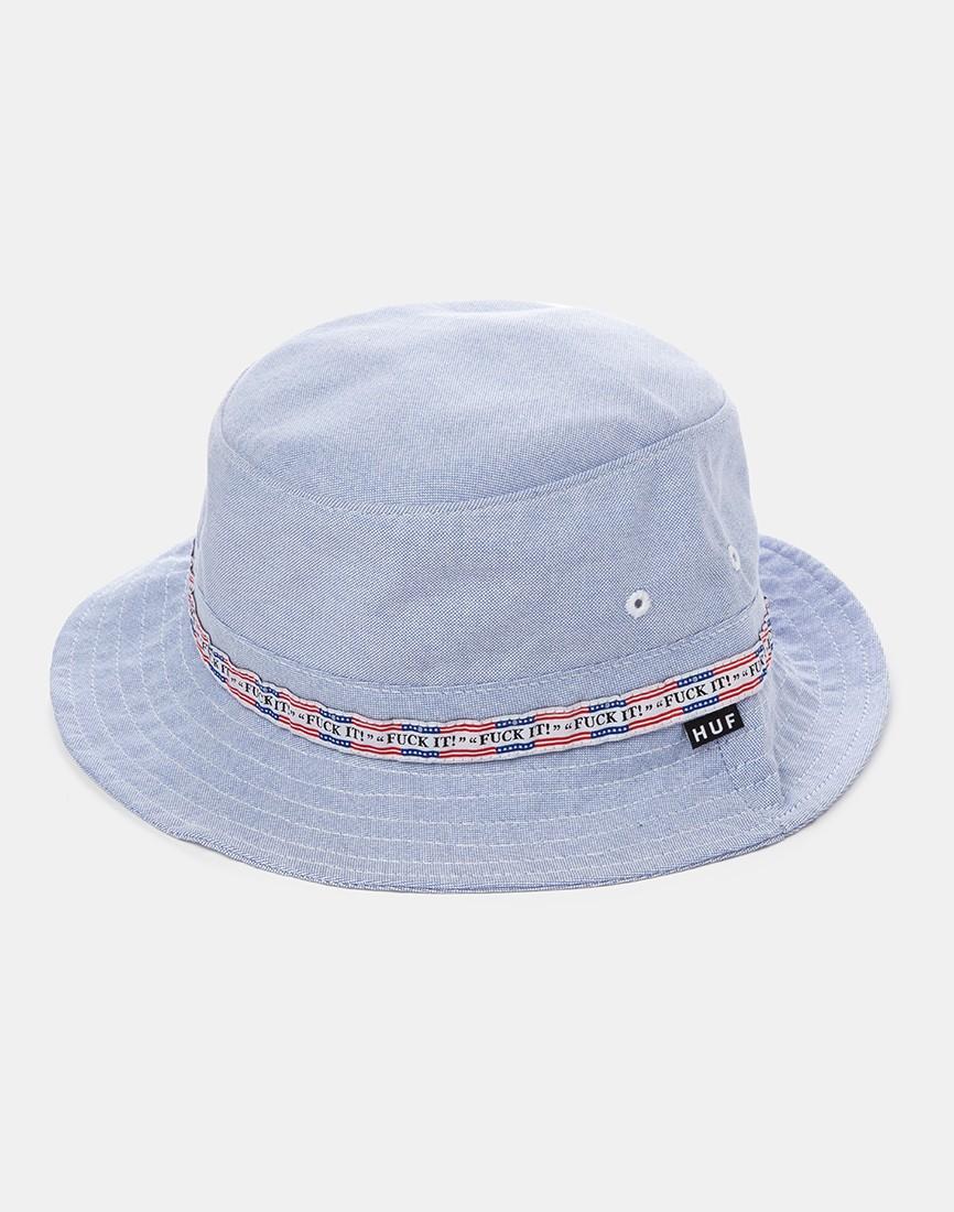10e433d450754b Huf F*ck It Oxford Bucket Hat - Blue in Blue for Men - Lyst