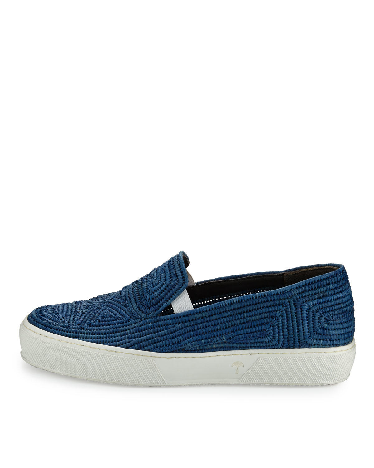 quality design d9b84 e2df7 robert-clergerie-blue-tribal-woven-raffia-sneaker-product-1-826594096-normal.jpeg