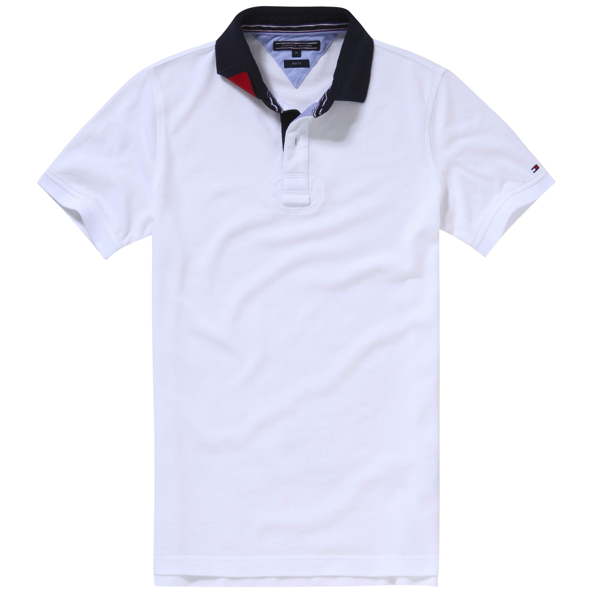 Tommy hilfiger Terence Polo Shirt in White for Men | Lyst