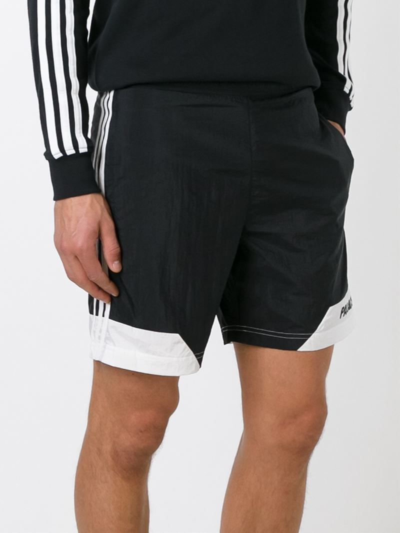 76e5e5c034011 Palace Adidas X Swim Shorts in Black for Men - Lyst