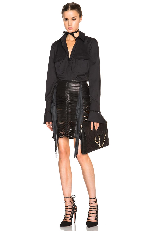 Lyst Magda Butrym Chicago Skirt In Black