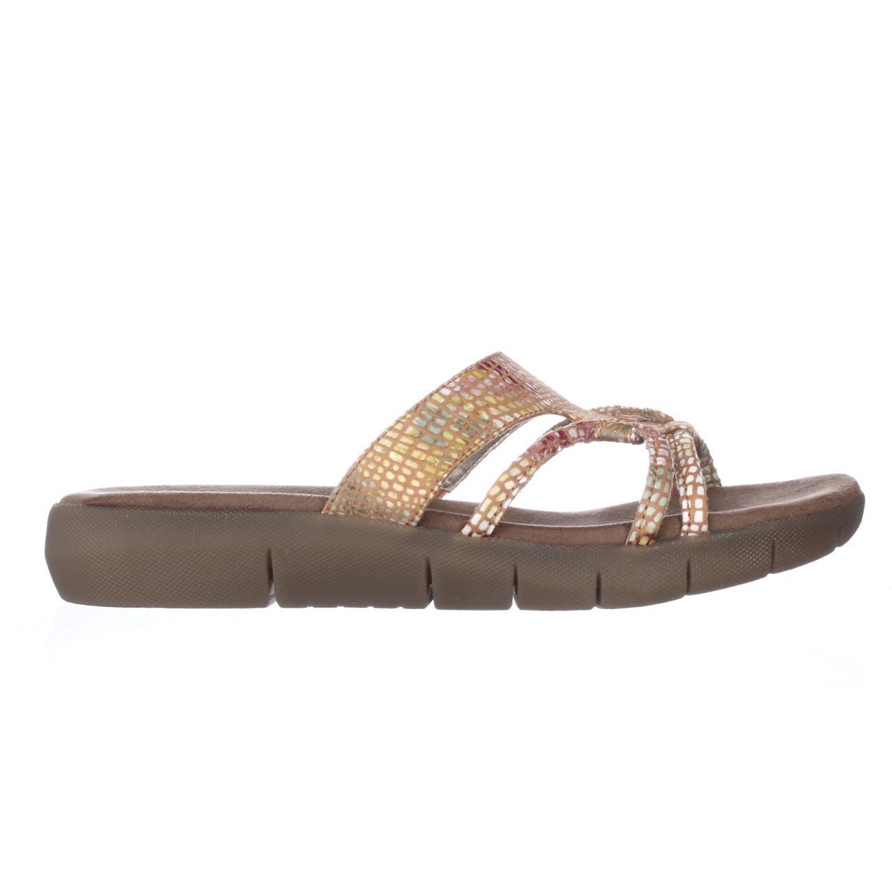 0232090f6f91 Lyst - Aerosoles Wip Away Comfort Slide Sandals in Brown