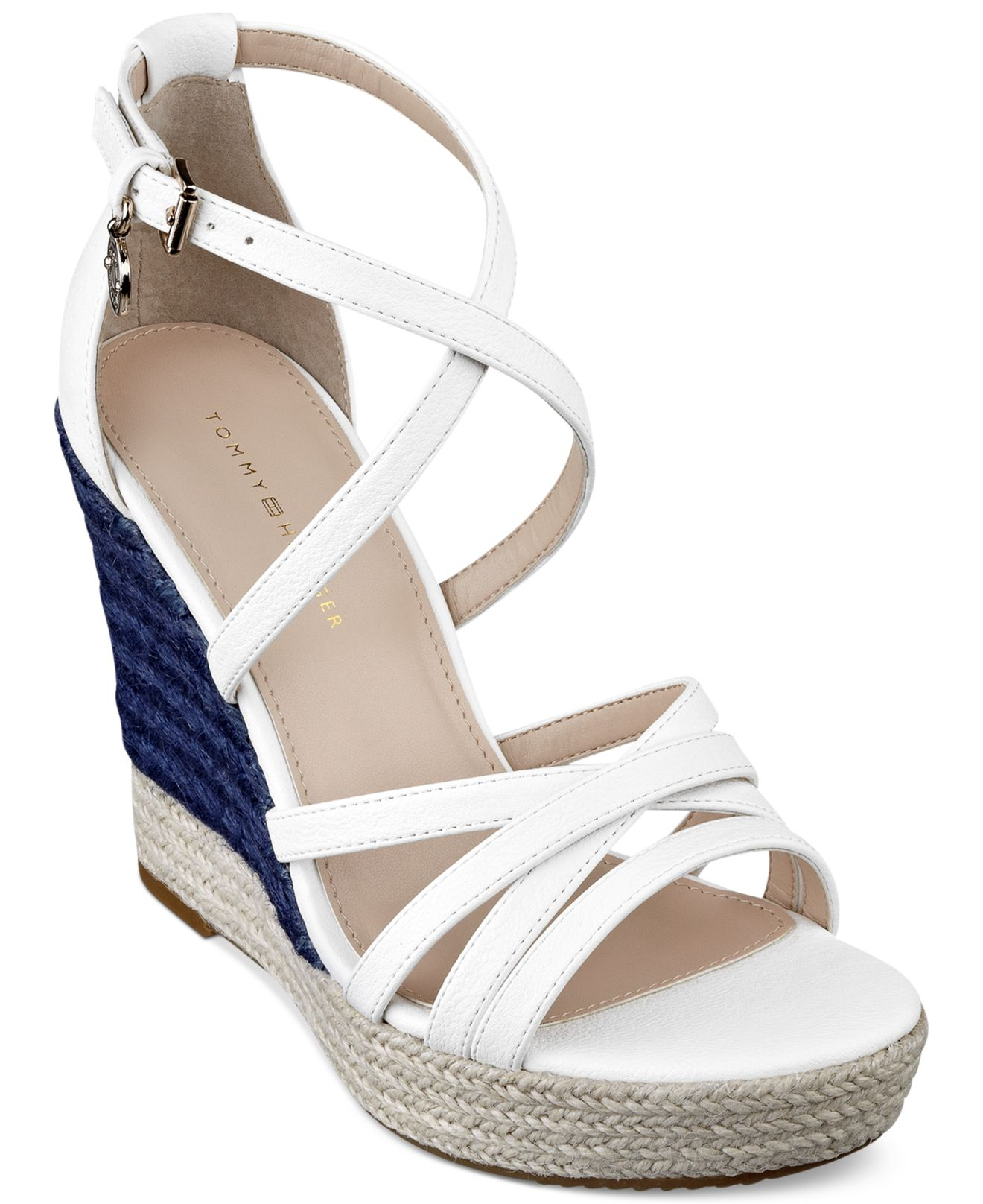 31ed3025d68 Gallery. Previously sold at  Macy s · Women s White Platform Wedges ...
