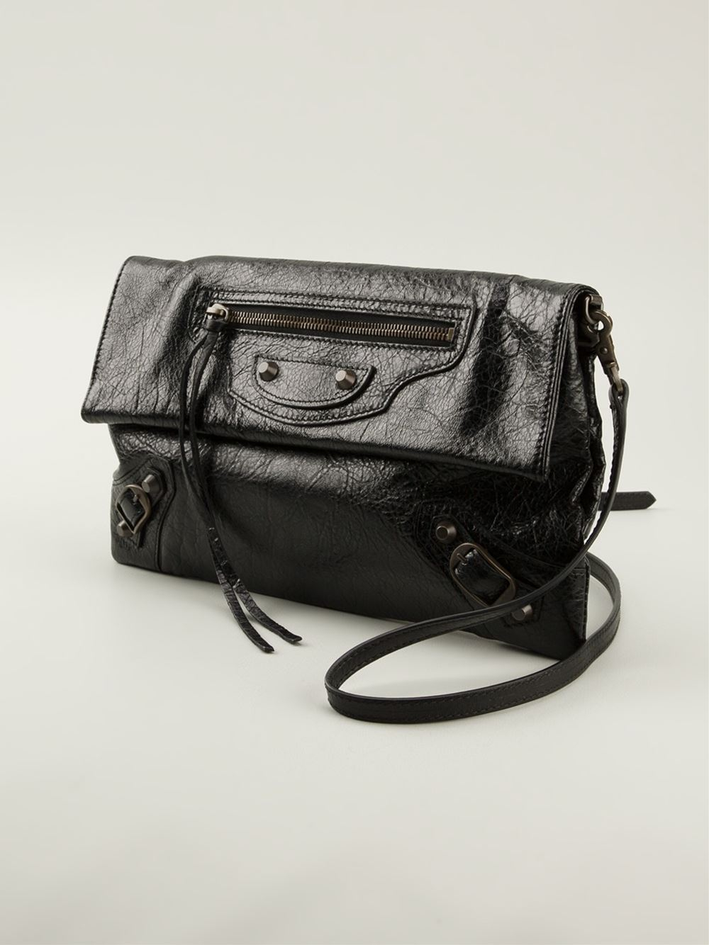 Lyst - Balenciaga Classic Envelope Clutch in Black 29296278b