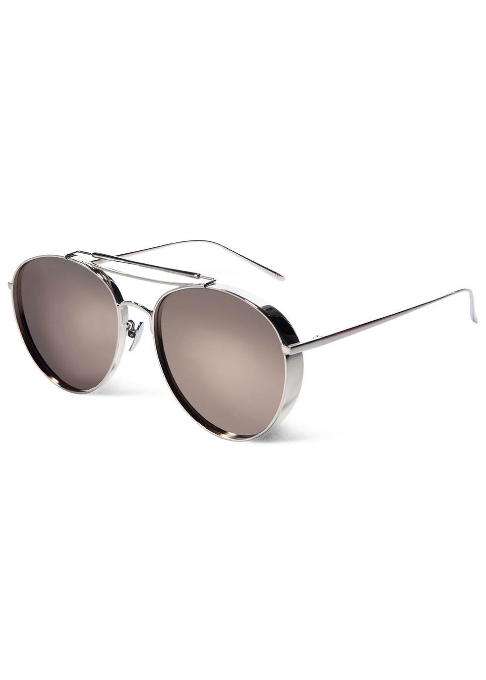 c31a9de758 Gentle Monster Big Bully Mirrored Aviator-style Sunglasses in ...