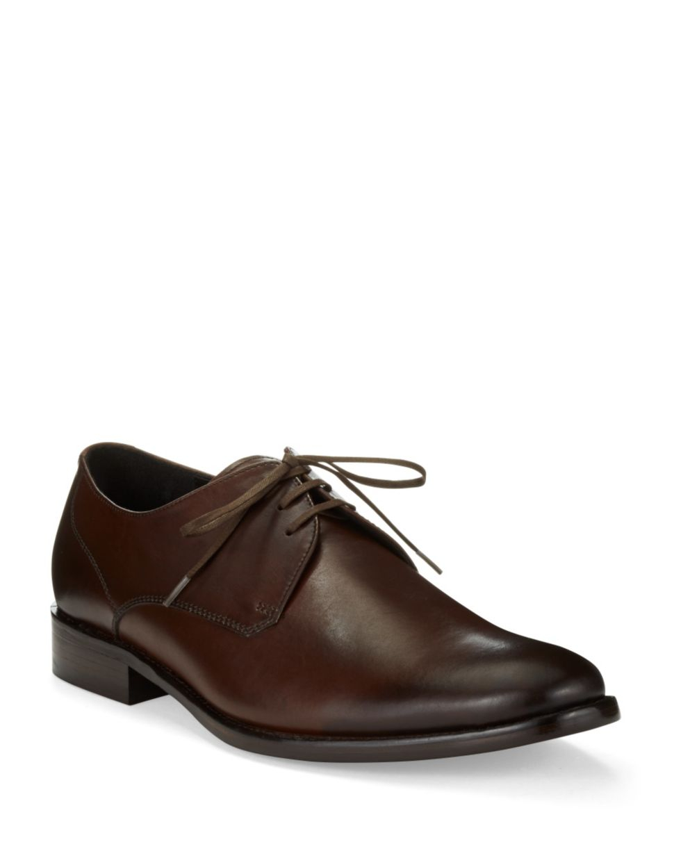 John Varvatos Luxe Derby Dress Shoes