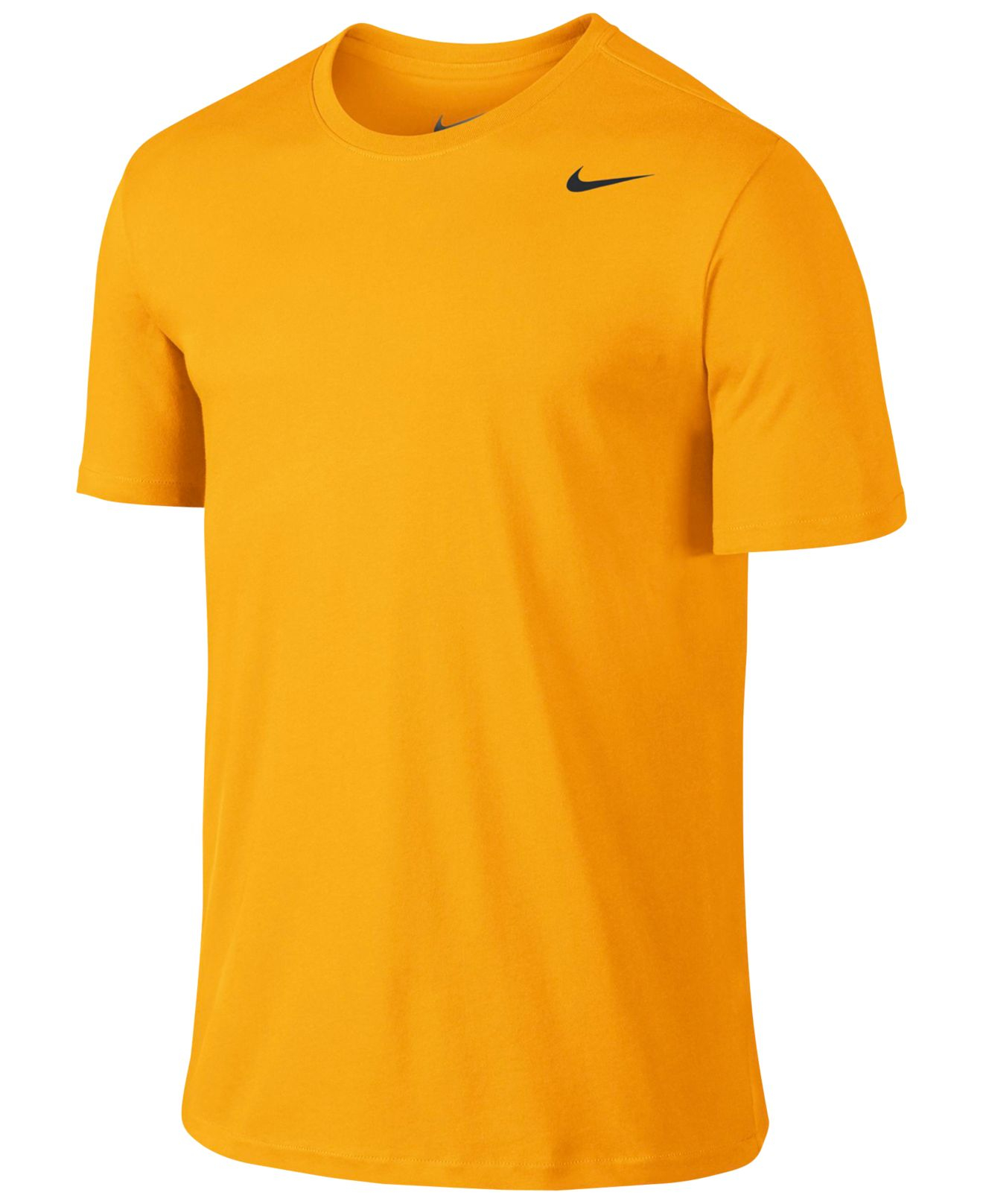 nike dri fit cotton short sleeve 2 0 t shirt in metallic