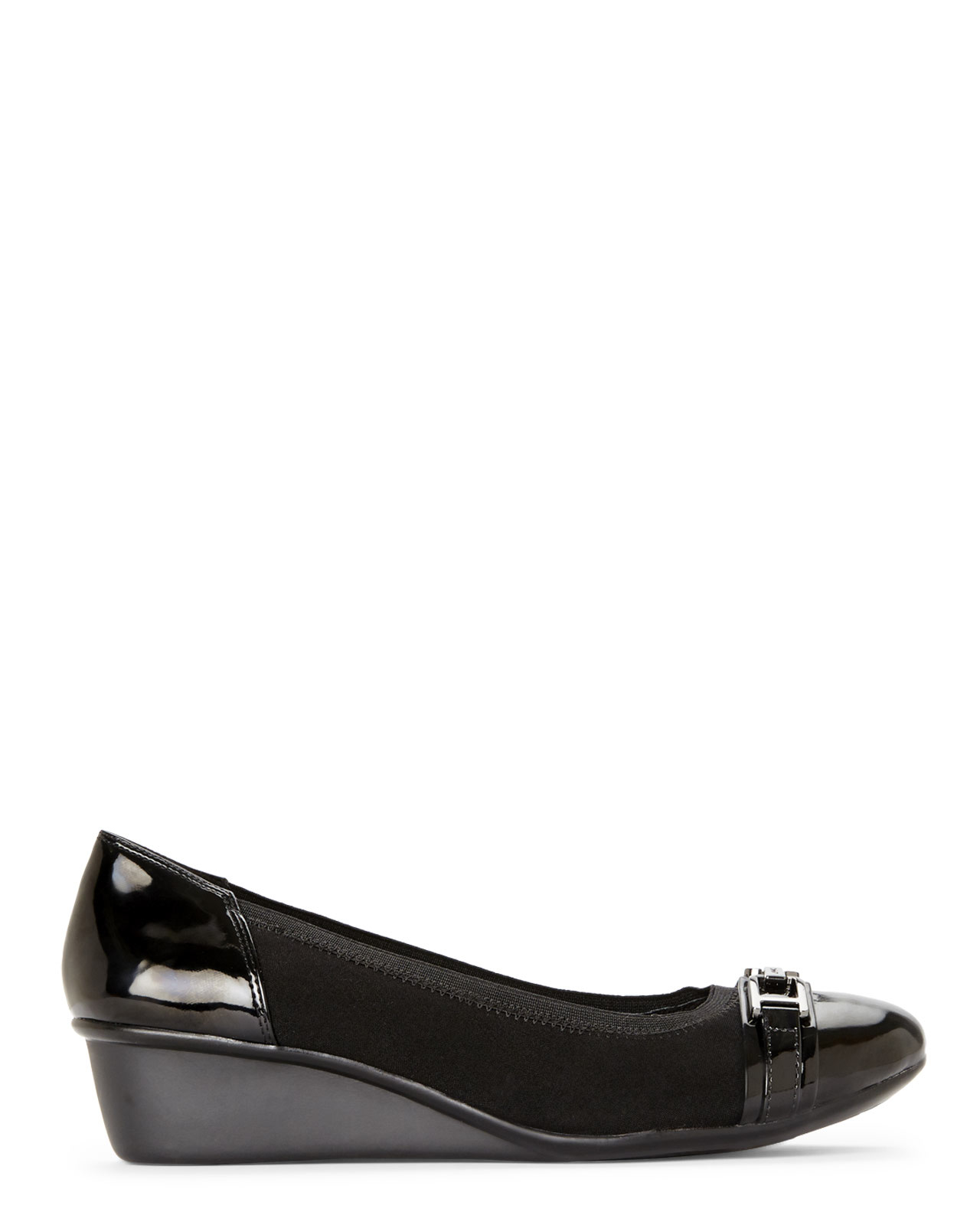 7fde6a61df02 Lyst - Anne Klein Carly2 in Black