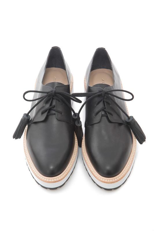 Black Shoes Laces With Tassle
