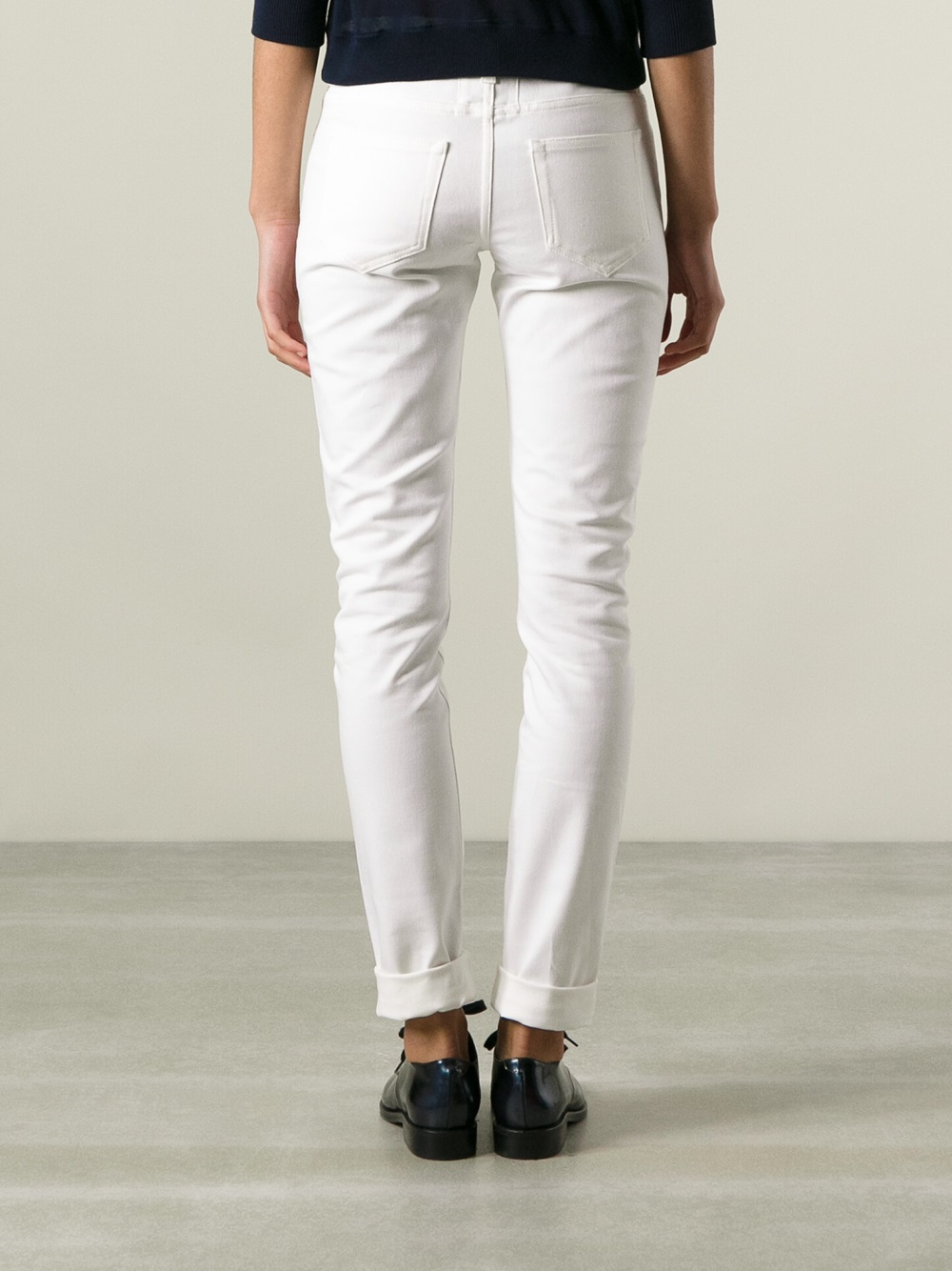 skinny fit jeans - White Saint Laurent McKRLF