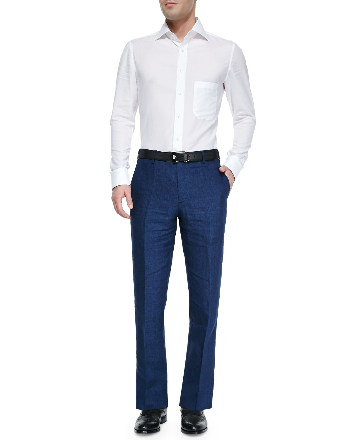 Blue Dress Pants For Men