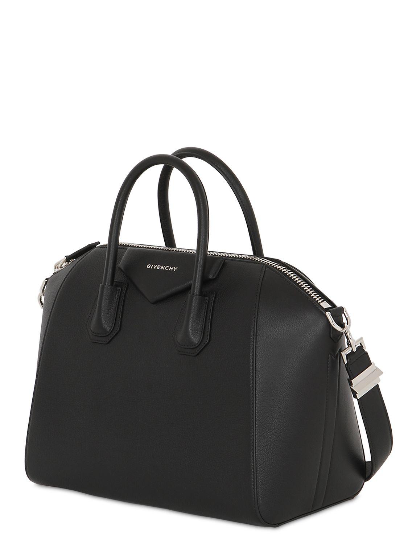 81d05b84a0 Lyst - Givenchy Medium Antigona Grained Leather Bag in Black