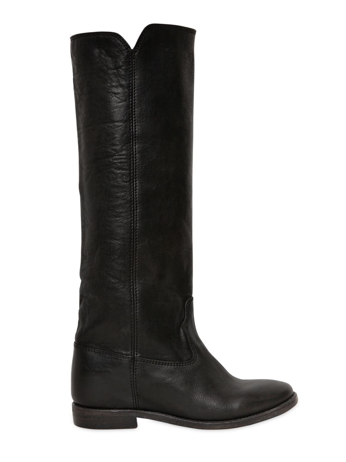 isabel marant 70mm chess leather boots in black lyst. Black Bedroom Furniture Sets. Home Design Ideas