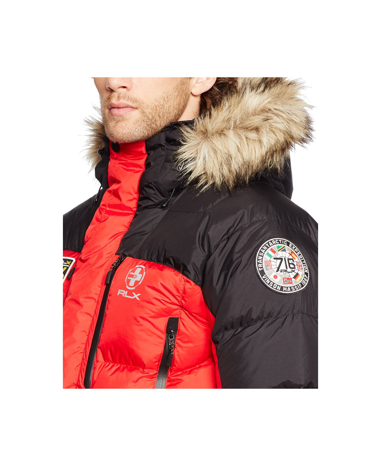 marein polo ralph lauren rlx expedition down jacket. Black Bedroom Furniture Sets. Home Design Ideas