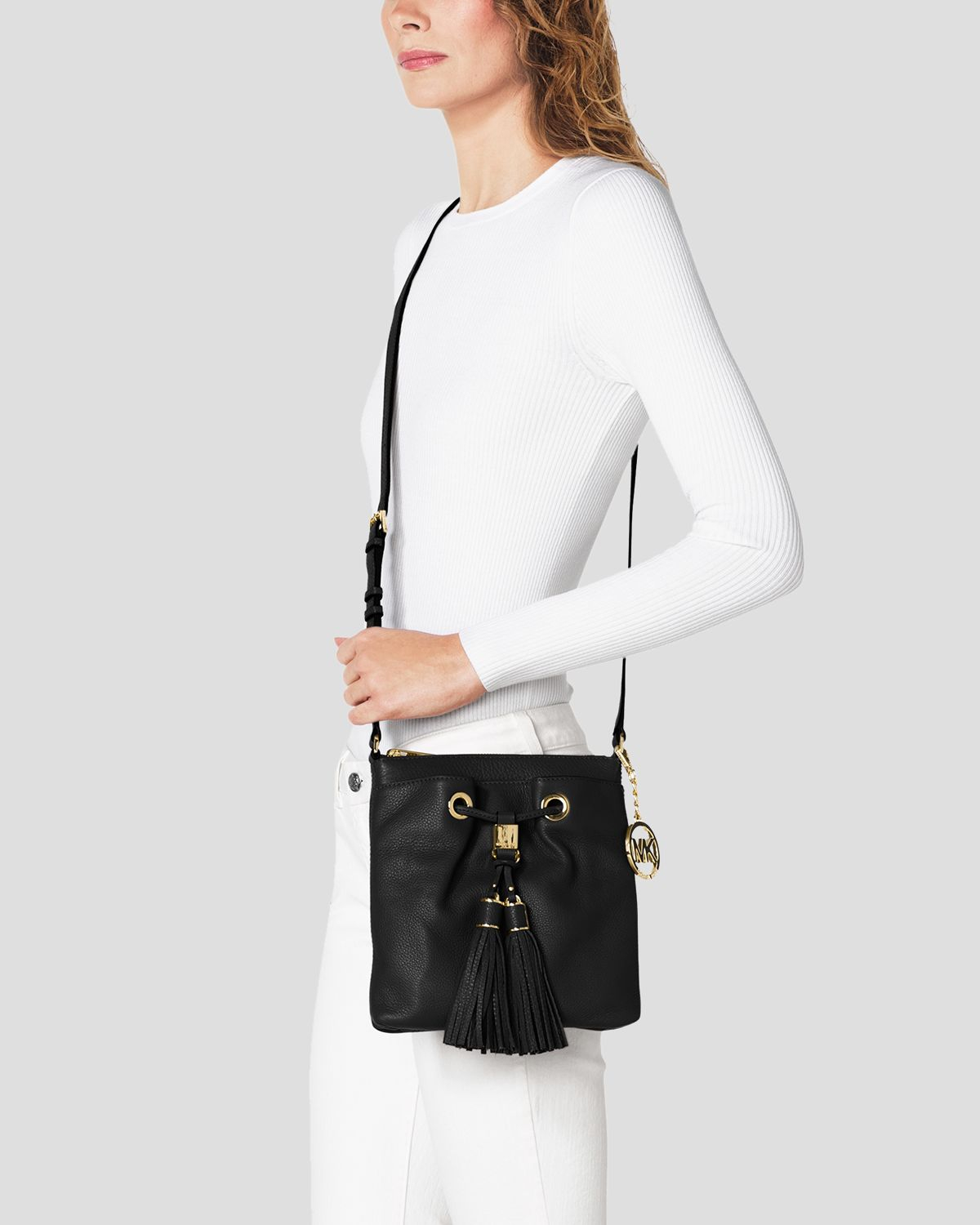 michael kors jewelry watches michael kors small black crossbody with tassel